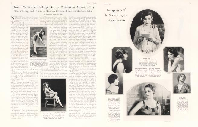 Article Preview: How I Won the Bathing Beauty Contest at Atlantic City, July 1925 | Vanity Fair