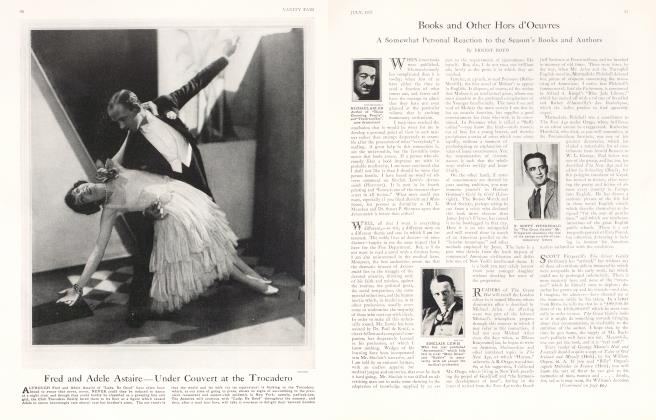 Article Preview: Books and Other Hors d'Oeuvres, July 1925 1925 | Vanity Fair