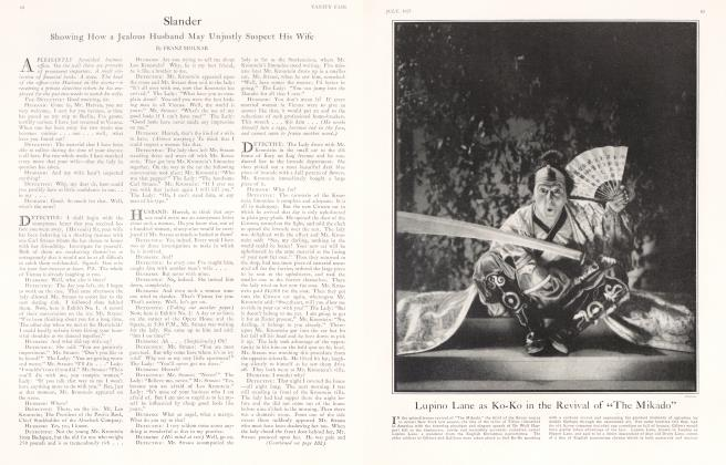 Article Preview: Slander, July 1925 | Vanity Fair