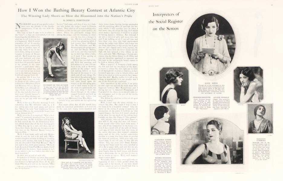 How I Won the Bathing Beauty Contest at Atlantic City