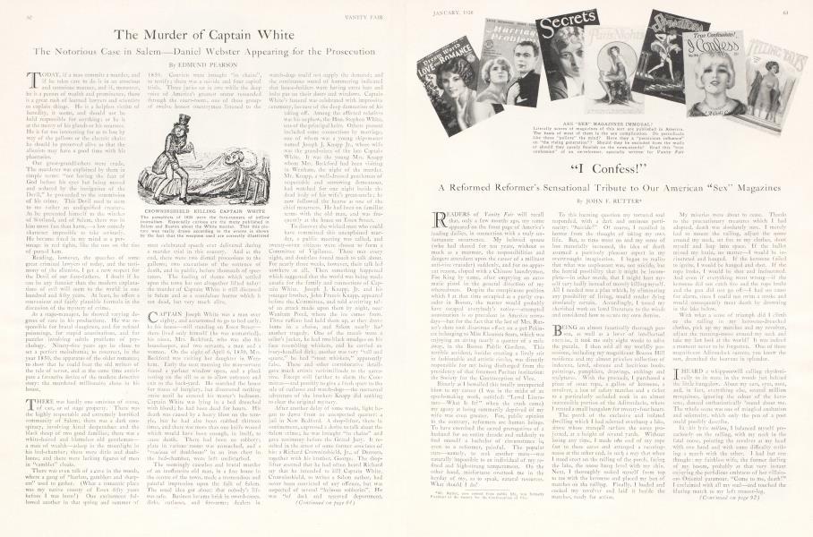 The Murder of Captain White