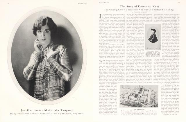 Article Preview: The Story of Constance Kent, February 1926 1926 | Vanity Fair