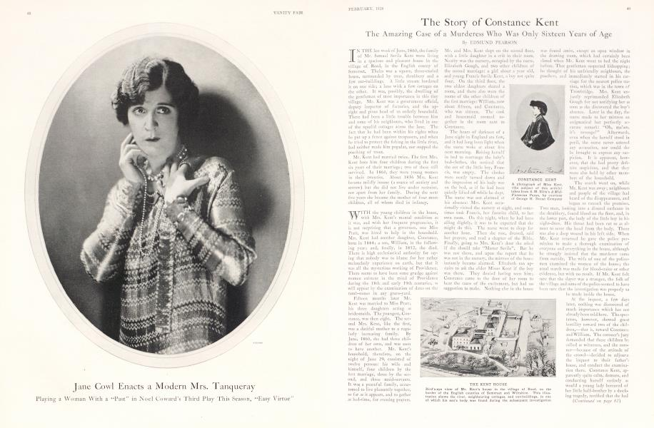 The Story of Constance Kent
