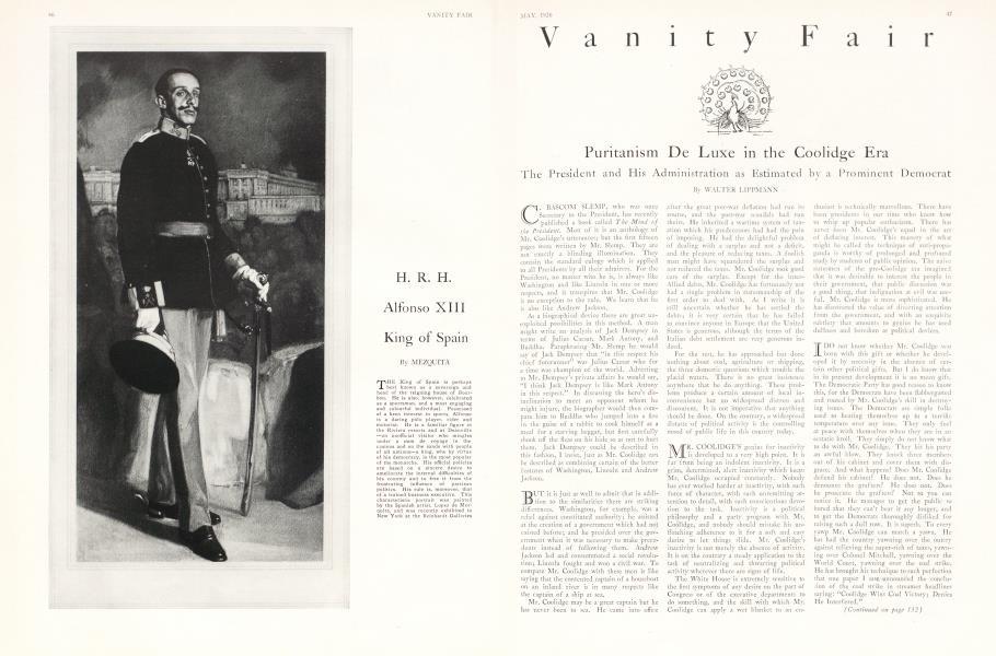 Puritanism De Luxe in the Coolidge Era