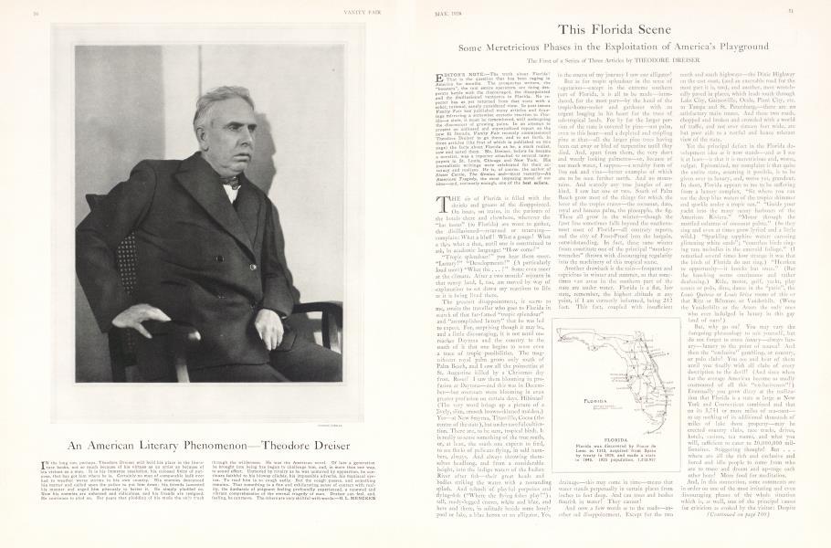 An American Literary Phenomenon—Theodore Dreiser
