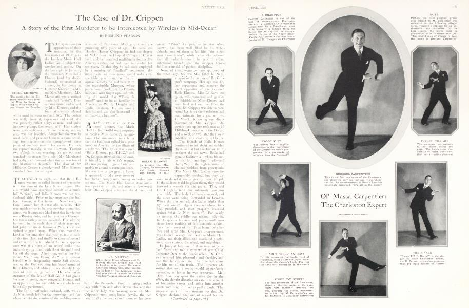 The Case of Dr. Crippen