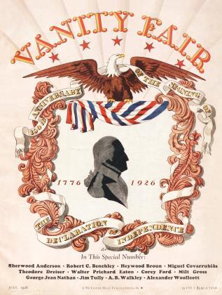 July 1926 | Vanity Fair