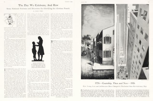 Article Preview: The Day We Celebrate; And How, July 1926 1926 | Vanity Fair