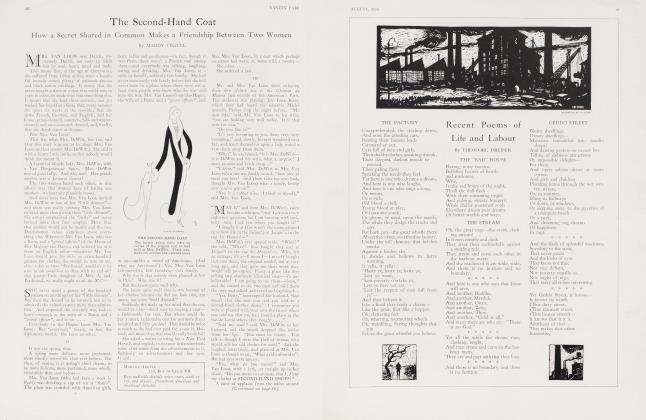 Article Preview: The Second-Hand Coat, August 1926 1926 | Vanity Fair