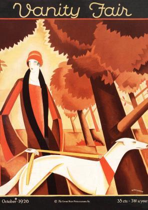 October 1926 | Vanity Fair