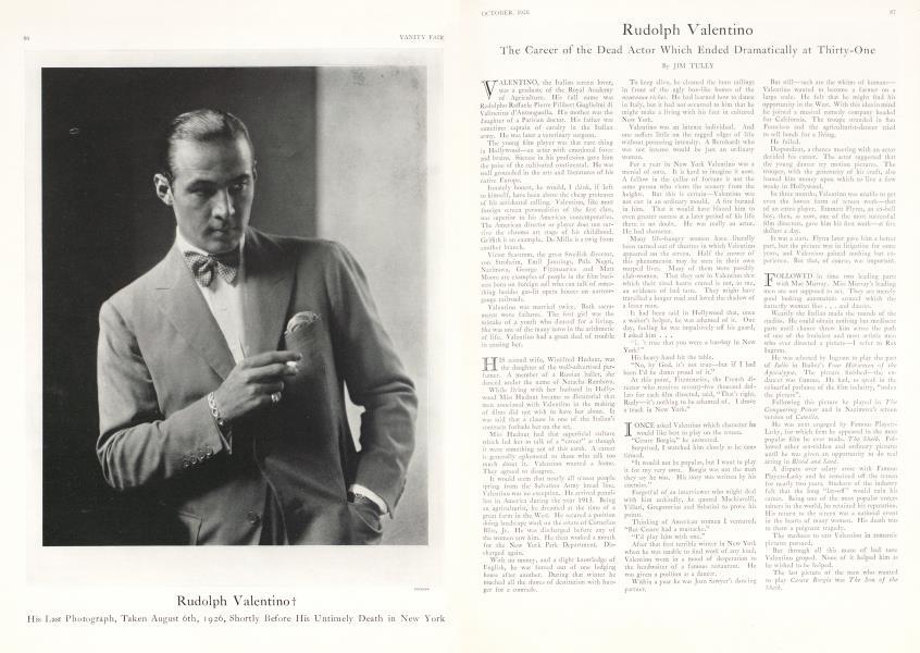 Rudolph Valentino †