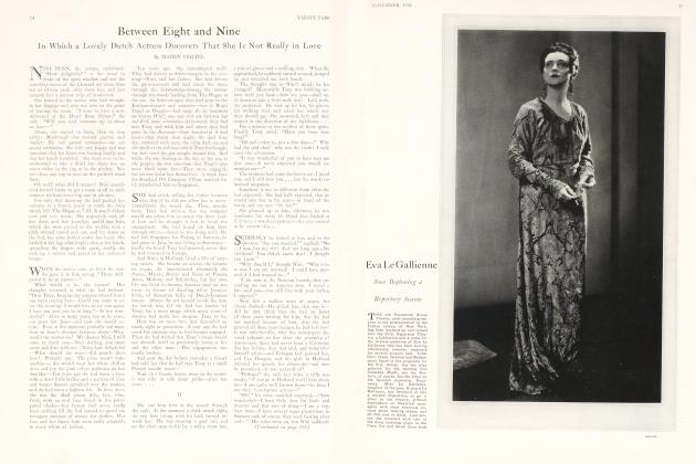 Article Preview: Between Eight and Nine, November 1926 1926 | Vanity Fair