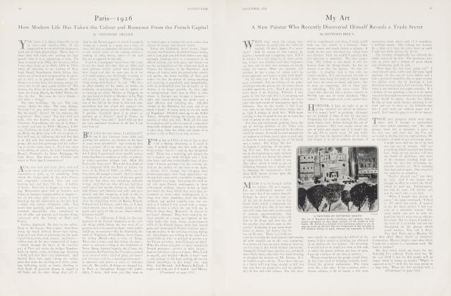 Article Preview: Paris—1926, December 1926 | Vanity Fair
