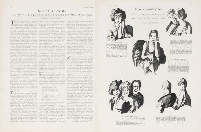 Article Preview: Square-Cut Emerald, December 1926 | Vanity Fair