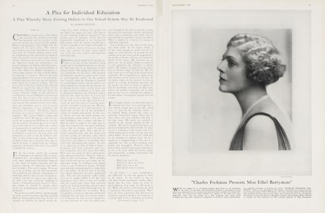 Article Preview: A Plea for Individual Education, December 1926 | Vanity Fair