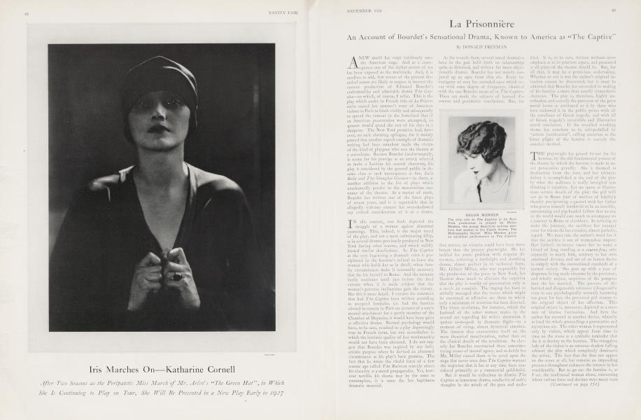 Iris Marches On—Katharine Cornell