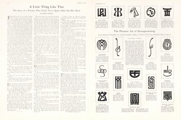 Article Preview: A Little Thing Like That, February 1927 1927 | Vanity Fair