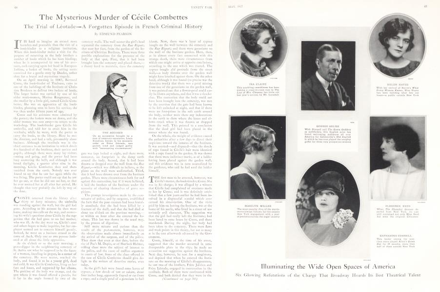 The Mysterious Murder of Cécile Combettes