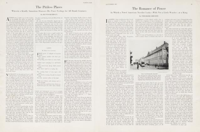 Article Preview: The Romance of Power, September 1927 | Vanity Fair