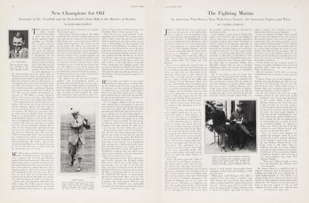 Article Preview: The Fighting Marine, September 1927 | Vanity Fair