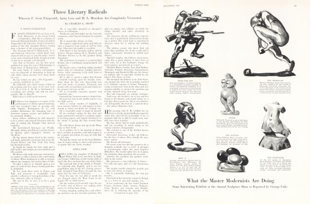 Three Literary Radicals