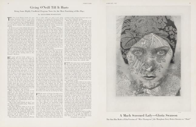 Article Preview: A Much Screened Lady—Gloria Swanson, February 1928 1928 | Vanity Fair