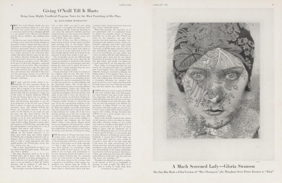 A Much Screened Lady—Gloria Swanson