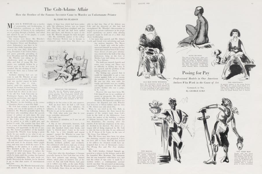 The Colt-Adams Affair