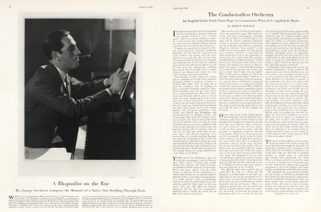 Article Preview: A Rhapsodist on the Rue, January 1929 1929 | Vanity Fair
