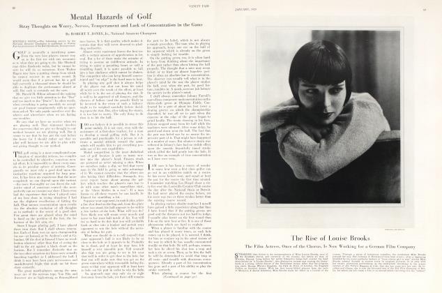 Article Preview: The Rise of Louise Brooks, January 1929 1929 | Vanity Fair