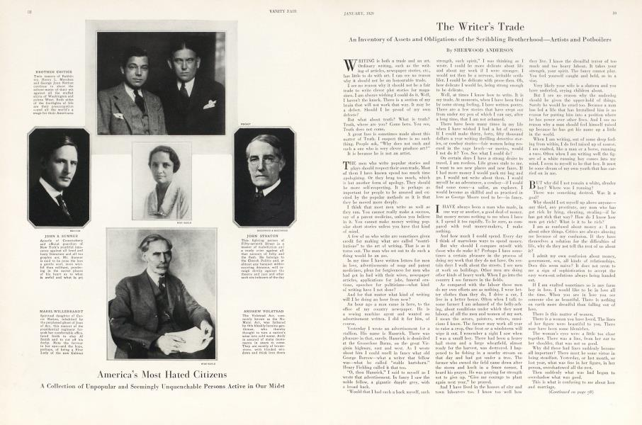 The Writer's Trade