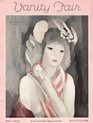 Cover for the May 1929 issue