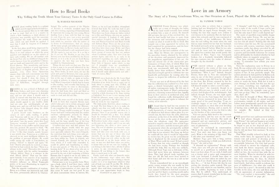 How to Read Books