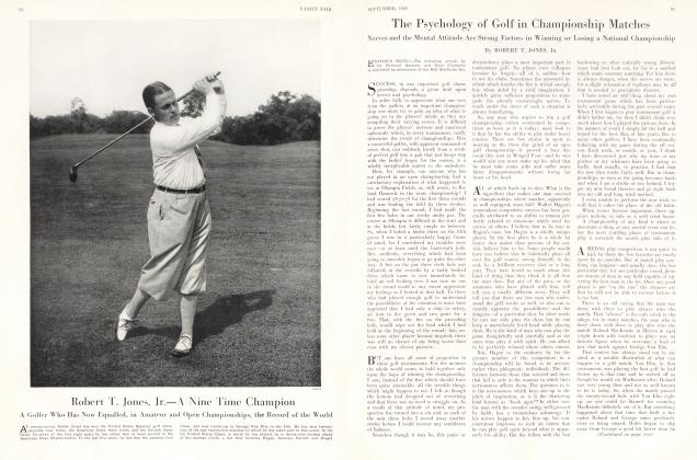 The Psychology of Golf in Championship Matches