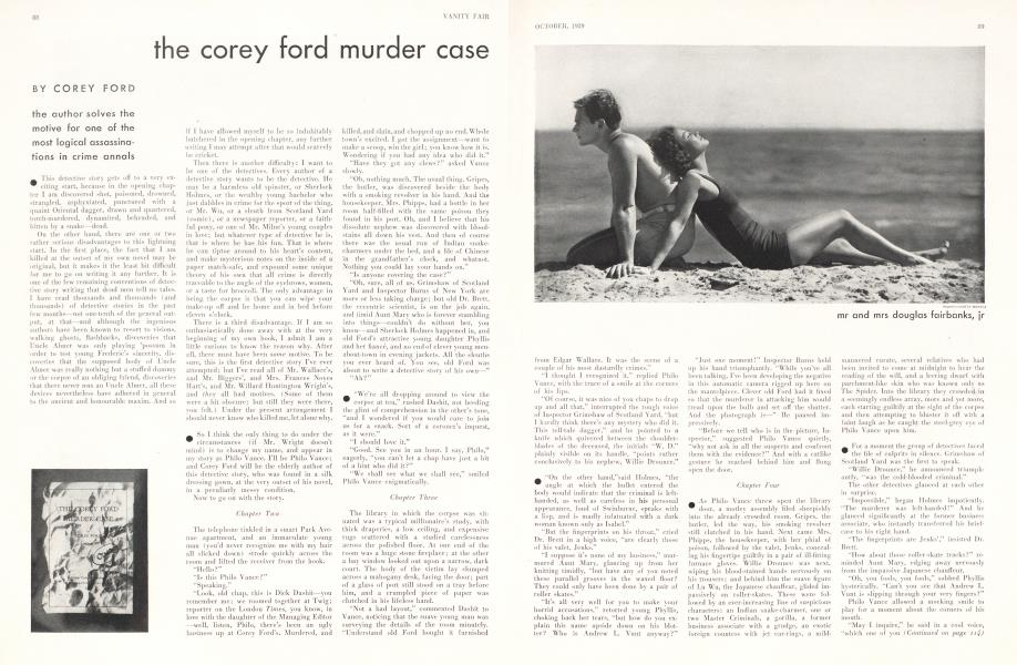 the corey ford murder case