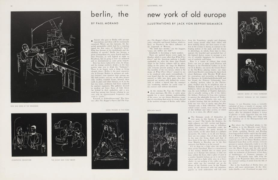 berlin, the new york of old europe
