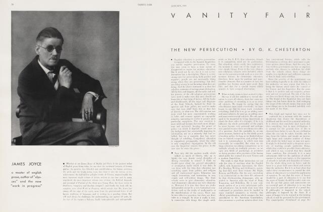 Article Preview: JAMES JOYCE, January 1930 1930 | Vanity Fair