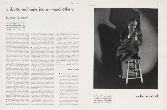 Article Preview: walter winchell, January 1930 1930 | Vanity Fair