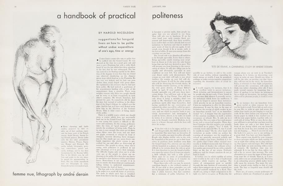 a handbook of practical Politeness