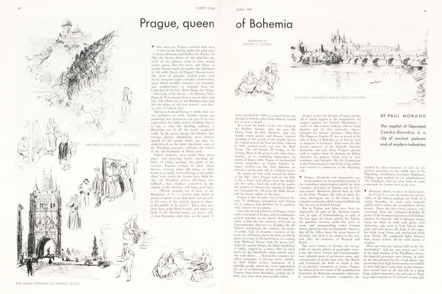 Prague, queen of Boemia