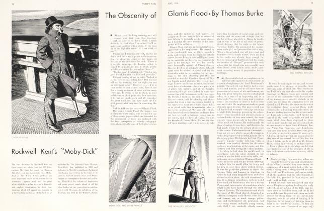 The Obscenity of Glamis Flood