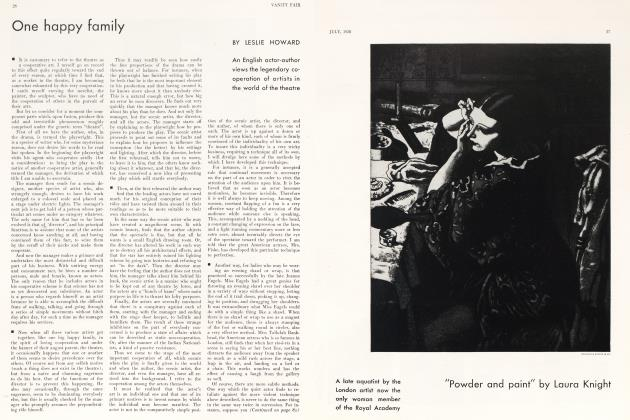 Article Preview: One happy family, July 1930   Vanity Fair