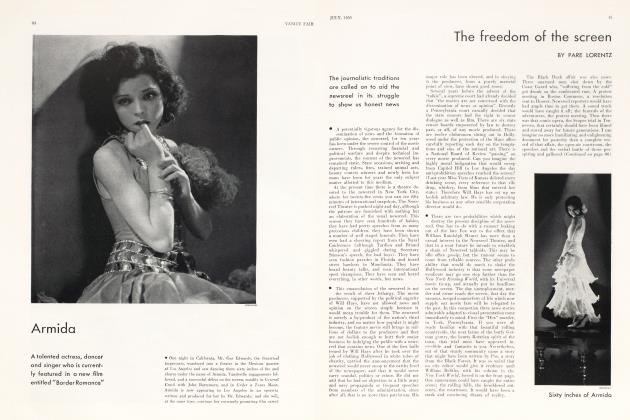 Article Preview: The freedom of the screen, July 1930 1930 | Vanity Fair