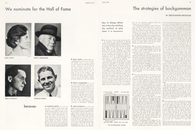 Article Preview: The strategies of backgammon, July 1930   Vanity Fair