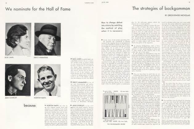 The strategies of backgammon