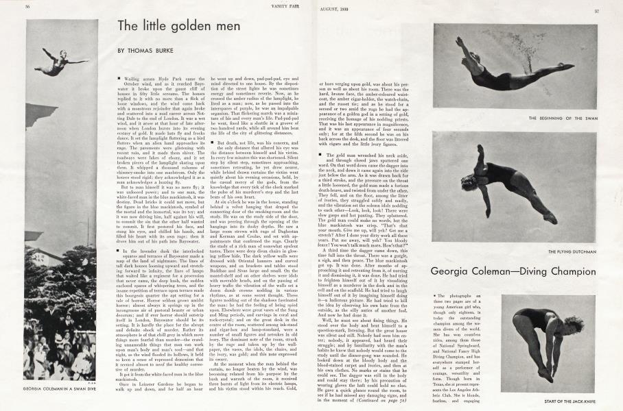 The little golden men