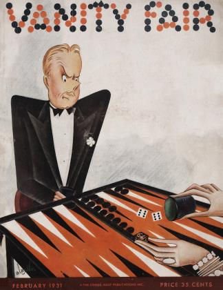 February 1931 | Vanity Fair