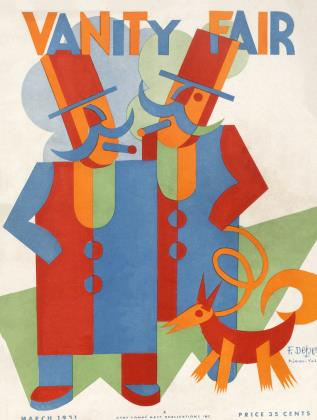 March 1931 | Vanity Fair