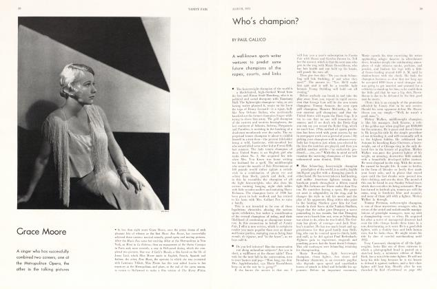 Article Preview: Who's champion?, March 1931 1931 | Vanity Fair