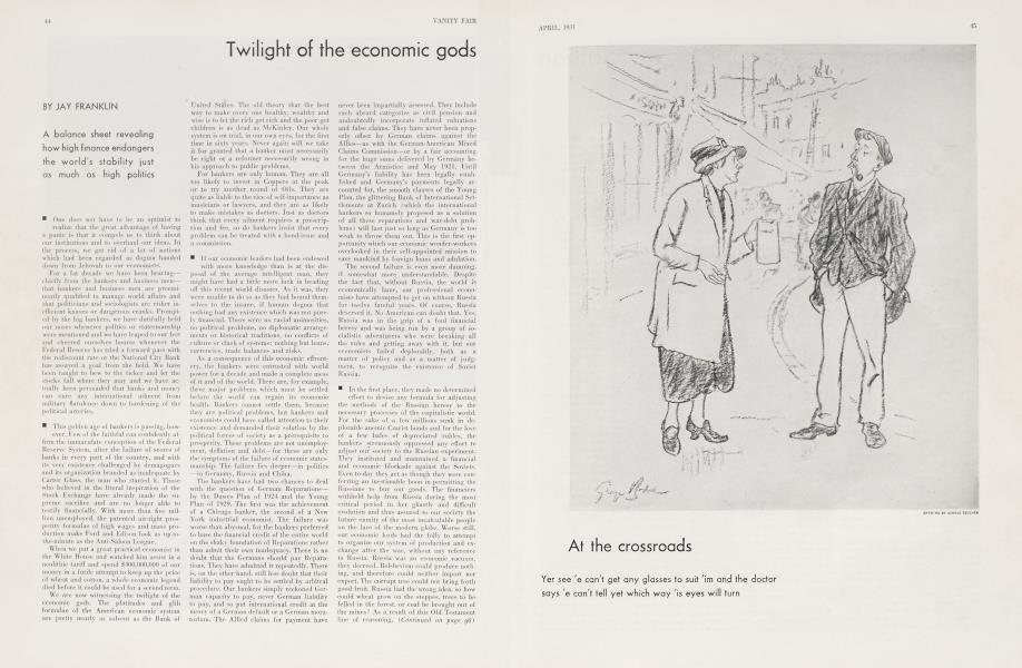 Twilight of the economic gods